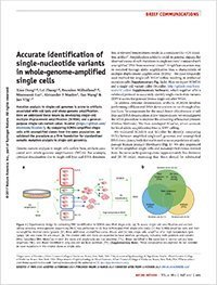 identification of single nucleotide variants