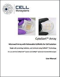 CytoSort Array User Manual